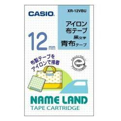 オフィス機器用アクセサリー・部品, ラベルライター用テープ・リフィル CASIO XR-12VBU 12mm