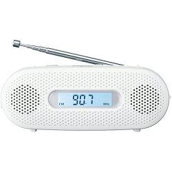 パナソニックRF-TJ20-W(ホワイト)_FM-AM_2バンドレシーバー_手回し充電対応ラジオ