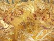 京西陣・金襴 生地 鳳凰雅錦(黄金金茶) (和布 和 和柄 和風 生地)05P01Oct16