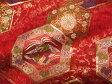 京西陣・金襴 生地 亀甲装束(赤) (和布 和生地 和柄生地 和柄 和風 布 生地)05P01Oct16