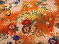 檜垣格子地文花車(橙)