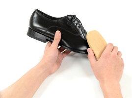 【全長約14.5cm】豚毛靴ブラシコロンブスブラシ102靴磨きの基本アイテム道具