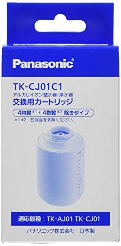 パナソニック浄水器交換カートリッジ蛇口直結型ミズトピア1個TK-CJ01C1