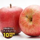 送料無料 葉とらず シナノスイート【家庭用】約10kg(約28〜40個) ※青森産、直送、りんご、リンゴ、林檎