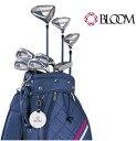 クリーブランド/Cleveland BLOOM レディスゴルフ8本フルセット キャディバッグ付の商品画像