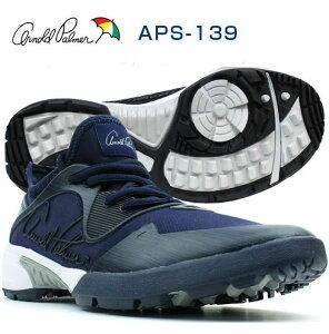 Arnold Palmer/アーノルド・パーマー スパイクレスゴルフシューズ フットウェア スニーカー スパイクレス 男性 メンズ 軽量 軽いAPS-139