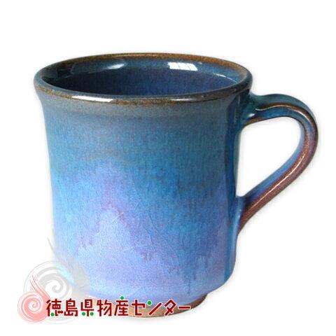 大谷焼 陶器 マグカップ(オリベ 長型)和食器/コップ/ティーカップ/日本製/徳島県伝統民工芸品/贈答/ギフト