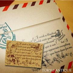 手作り雑貨・ハンドメイド品がオリジナルに!気持ちを込めて【東京アンティーク】幸せの青い鳥