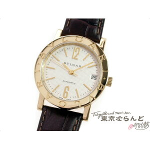 Bvlgari Bvlgari Bvlgari Automatic Gold Solid Watch Wristwatch Boys Automatic K18YG Leather BB33GL AUTO Finished Free Shipping [Used] [3-year warranty on all items] 101430517