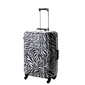 ヒデオワカマツ スーツケース 85-74152 57cm 【 ゼブラ HIDEO WAKAMATSU リバースコントロール 4輪 小型 】【 TSAロック搭載 】