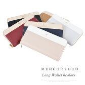 マーキュリーデュオ 財布 MERCURYDUO ラウンドファスナー長財布 レディース MDS-7038