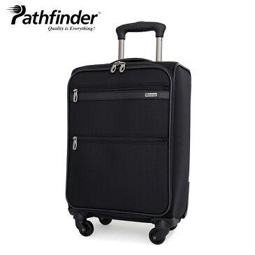 パスファインダー スーツケース PF1838B 54cm AVENGER Pathfinder ビジネスキャリー ソフトキャリー ダイヤル式TSAロック 機内持ち込み [bef][PO10][即日発送]