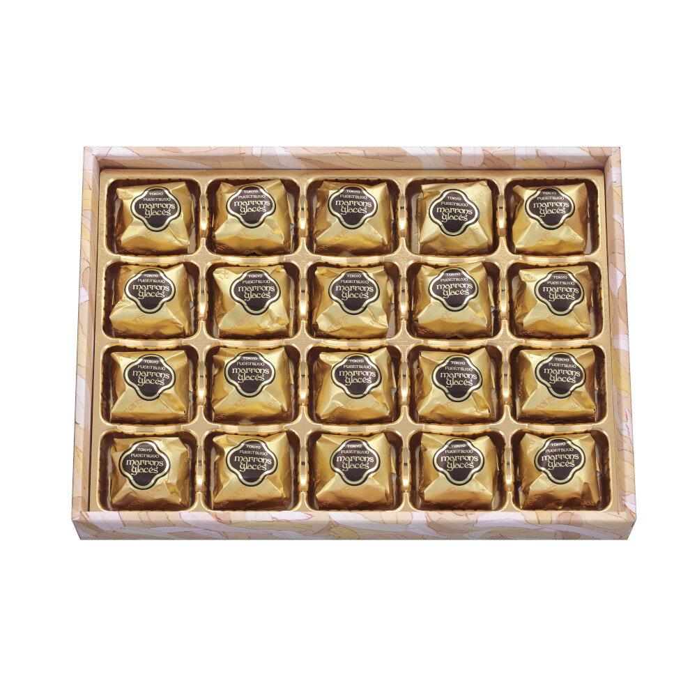 送料無料栗スイーツプレゼントギフト詰め合わせ個包装東京風月堂マロングラッセ20個入スイーツお菓子チョコ以外