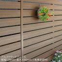 【ディーズフェンス アルファウッド 横張りタイプ】サイズ:幅120mm【フェンス ディーズ 樹脂製 木目調】