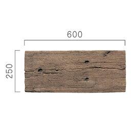 ブラッドストーンログ・スリーパー5枚セット(600mm)英国製コンクリート枕木