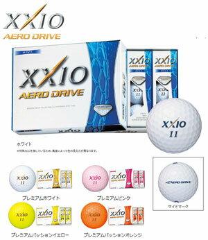 ダンロップXXIO(ゼクシオ)XD−AERO(エアロ)ゴルフボール1ダース