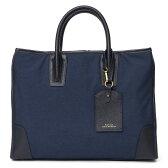 ブリーフケース メンズ 本革 レザー ビジネスバッグ ネイビー ショルダー付き 上品 上質 高級 カバン ドレス 鞄 fetia(フェティア)