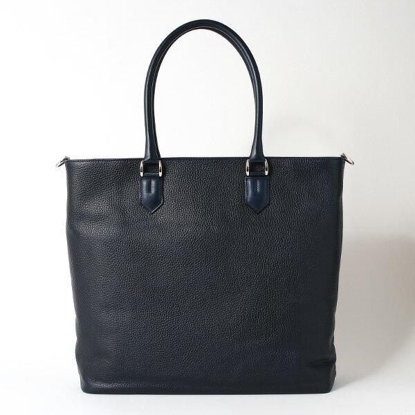 トートバッグ メンズ 本革 日本製 ブルー ネイビー 青色 ビジネスバッグ ショルダーベルト付き 肩掛け 大容量 大きい 無地 鞄 カバン 通勤 通学 オシャレ ファイブウッズ(FIVE WOODS) HORIZON(ホライズン) #39242