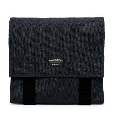 クラッチバッグ メンズ 日本製 ブルー ネイビー 青色 バリスティックナイロン ブランド カバン 鞄 ワンダーバゲージ(WONDER BAGGAGE)