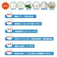 オキシクリーン1500gお徳用サイズ粉末グラフィコ洗剤酵素漂白