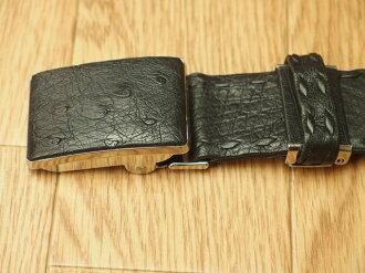 駝鳥皮帶人皮帶本皮革日本製造皮帶工匠手製皮帶駝鳥皮革皮帶皮革帶子針脚紳士皮帶商務皮帶正式皮帶人皮革皮帶日本製造人皮帶禮物禮物禮品