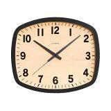シャンブル壁掛け時計CHAMBREBLACKSERIESR-SQUARECLOCKBLACKCH-028BK電波時計日本製おうち時間ウォールクロック壁かけ時計インテリアおしゃれ時計壁掛け