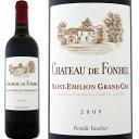 シャトー・ド・フォンベル 2009【フランス】【赤ワイン】【750ml】【フルボディ】【オーゾンヌ】