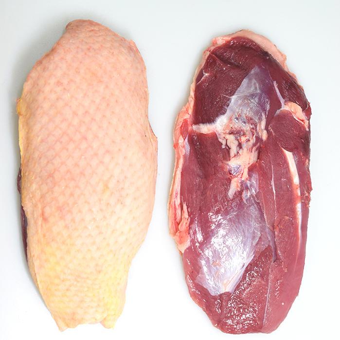 【フレッシュ 冷蔵】鴨ロース シャラン産鴨 鴨胸肉 フィレ カナール canard <フランス シャラン産>【約350-450g】【\690/100g再計算】【冷蔵品】