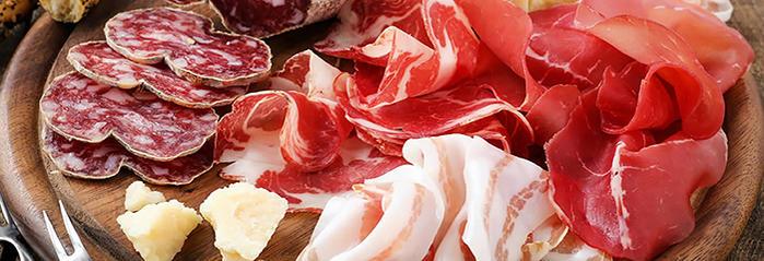 ◆チンタセネーゼ豚 パンチェッタ リガティーノ(バラ肉塩漬け)生ベーコンpancetta<イタリア産>(お試しサイズ)【約200-300g】【\610/100g当たり再計算】【冷蔵品】