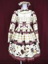 【中古】Angelic Pretty / Antique Chocolaterieワンピース&カチューシャ セット アンジェリックプリティ B21945_1905