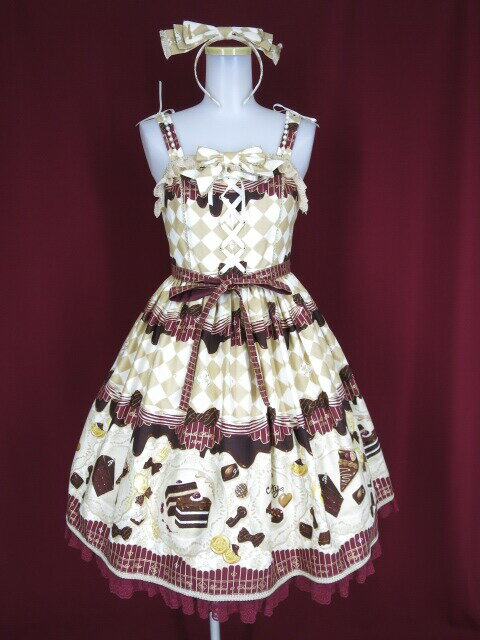 Angelic Pretty jsk Angelic Pretty Antique Chocol...