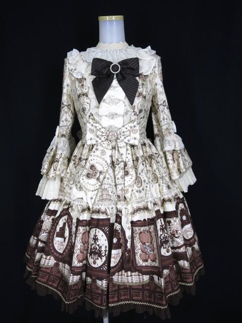 レディースファッション, ワンピース Angelic Pretty Musee du Chocolat Dress Set () B240302003