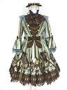 【中古】Angelic Pretty / カルテットショコラDress&カチューシャ アンジェリックプリティ ドレス ワンピース B26554_1911
