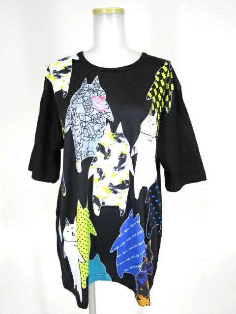 トップス, Tシャツ・カットソー MINT NeKO x 10th B291422001