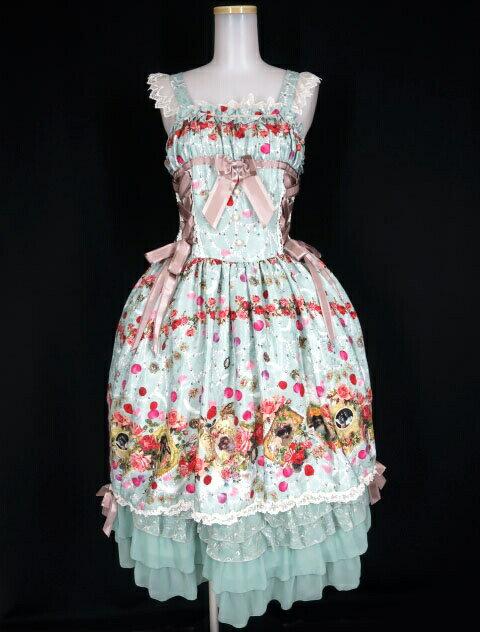 ボトムス, スカート BABY, THE STARS SHINE BRIGHT Lady Victorian Rose Jewelry B309402003