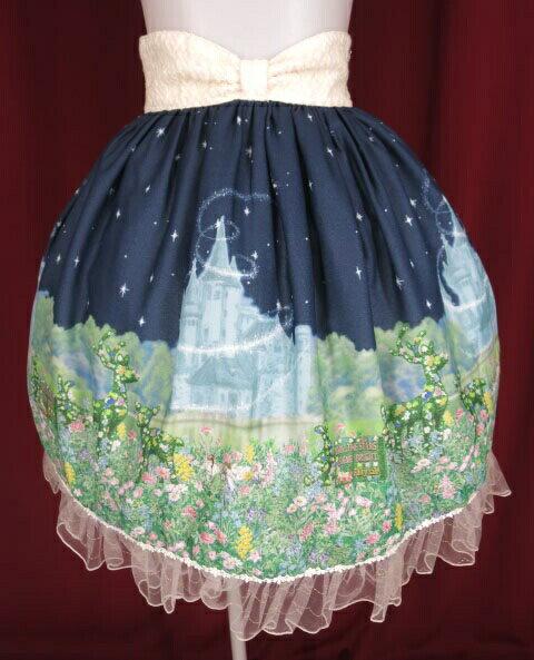 ボトムス, スカート BABY, THE STARS SHINE BRIGHT Fairy Topialium Trifolium B346522008