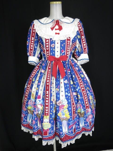 レディースファッション, ワンピース Angelic Pretty Ice Cream Parlor B376632011