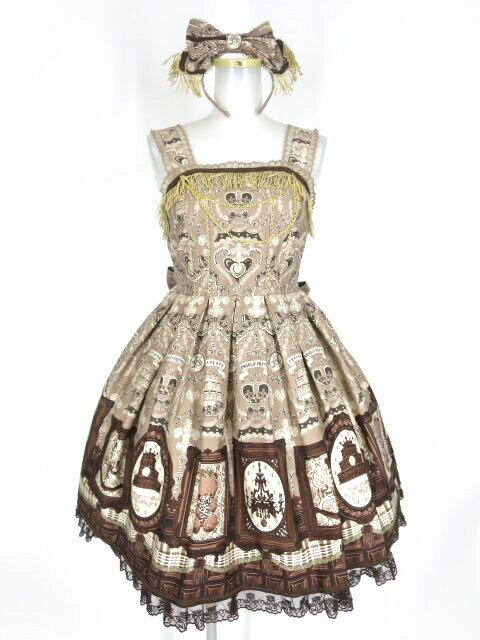 レディースファッション, ワンピース Angelic Pretty Musee du Chocolat B387572102
