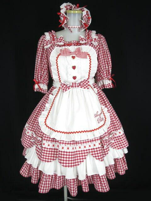 レディースファッション, ワンピース Angelic Pretty Heart CafeSet () B403812105