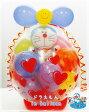 誕生日 バルーン ドラえもん 祝電 バルーン電報 1歳 電報★ドラえもん in balloon