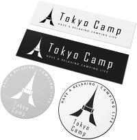 TokyoCampオリジナルロゴステッカー4枚セット