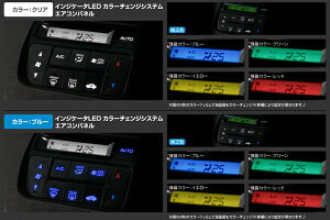 GARAXギャラクス【N-BOX/N-BOXカスタム】インジケーターLEDカラーチェンジシステムエアコンパネル用