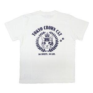 東京クラウンキャットポケット付きTシャツ