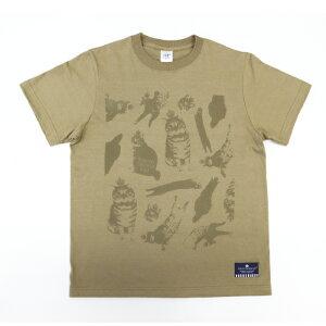 東京クラウンキャット総柄Tシャツ