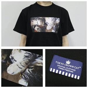 東京クラウンキャットフォトシャツ