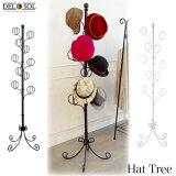 送料無料 帽子掛け♪ 帽子ツリー DS-P1708 Del Sol デルソル 《帽子コレクション アイアンハンガー ディスプレーハンガー 姫系 アイアン系 店舗 アパレル ブティック》