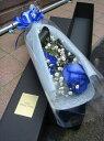青いバラ ブルーローズを全国配送 通販宅配 送料無料ブラックボックスブルーローズ【送料無料】...