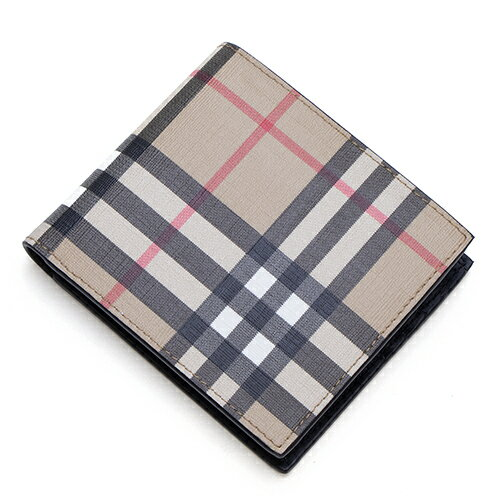 『Vintage Check E-canvas International Bifold Wallet(80166111)』
