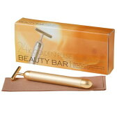 Beauty Bar 24K ビューティーバー 純金 超音波美顔器 防水 日本製 フェイシャルケア 美容【エムシービケン日本国内正規品】