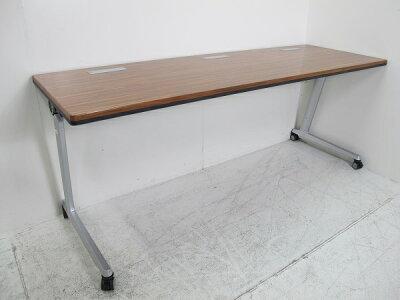 オカムラエレガスタサイドフォールドテーブル